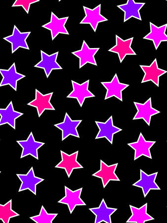 Star template containing random shapes for your xmas backdrop