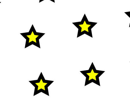 disorder: Star pattern based on multiple shapes for your new year decoration