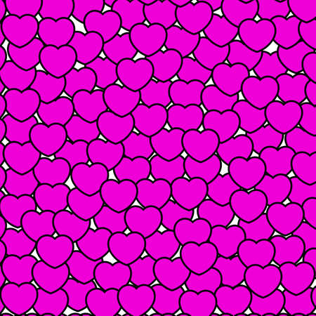 shuffle: Beautiful shapes for Saint Valentines day, high definition backdrop Stock Photo