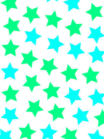disorganization: Abstract star background