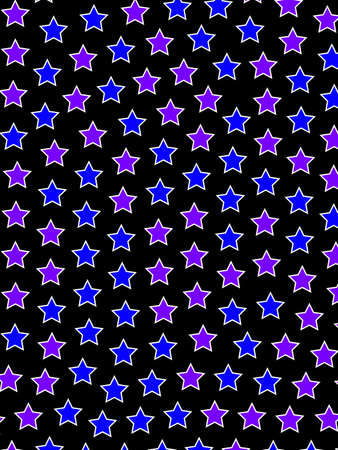 Star background based on random elements for christmas decoration