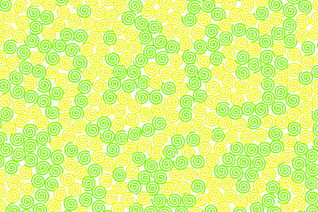 Curl background containing random shapes for high resolution concept.