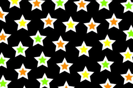 rendered: Irregular pattern based on many elements for new year illustration