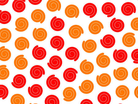 Abstract pattern containing multiple shapes for modern design.