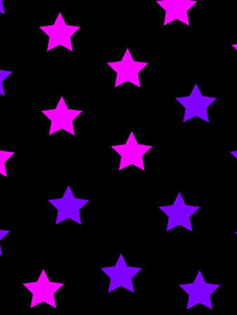 rendered: Star background with random particles for new year design