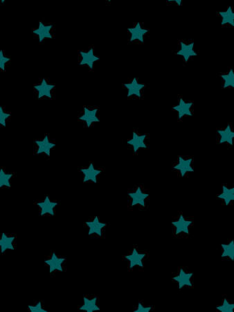 spring balance: Star pattern based on many particles . christmas design Stock Photo