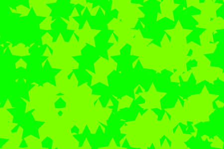 rendered: Star template with multiple particles for christmas backdrop