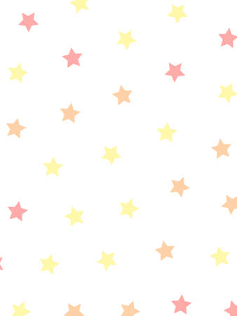 Star template with random shapes . modern illustration Stock Photo