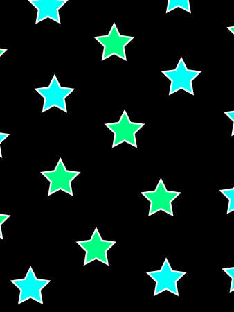 Star background with many elements for your xmas backdrop
