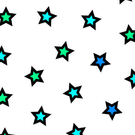 rendered: Star texture based on multiple particles for modern backdrop