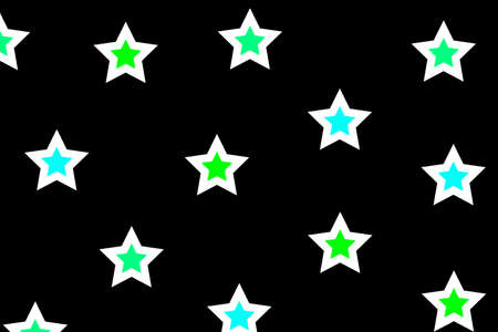 rendered: Abstract pattern containing random particles . xmas illustration Stock Photo