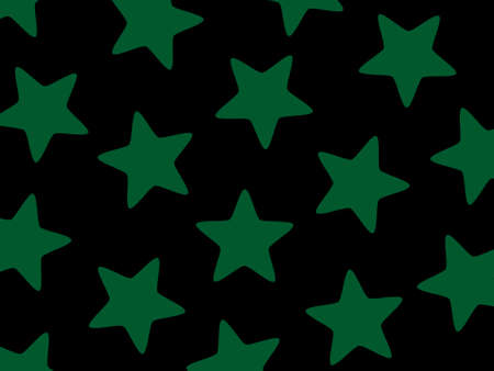 messy: Star pattern containing multiple particles for modern concept