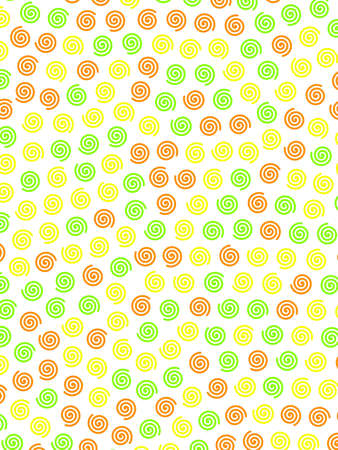 Helix background with random shapes for your high resolution illustration. Stock Photo