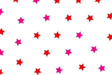 Star template based on random shapes for your modern design Stock Photo