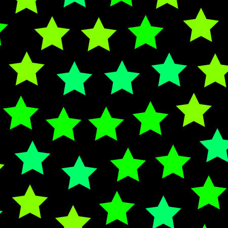 Chaotic pattern based on many elements for xmas illustration Stock Photo