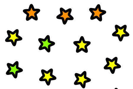 Star background containing many shapes for your xmas design