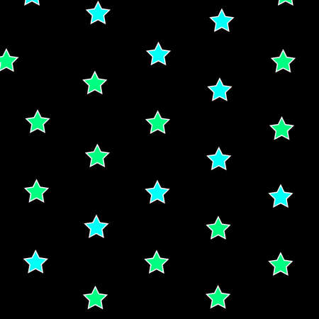 Star background containing multiple shapes for new year concept Stock Photo