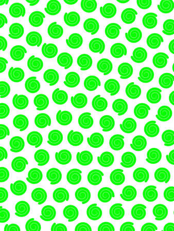 Chaotic pattern containing random particles for high resolution design.