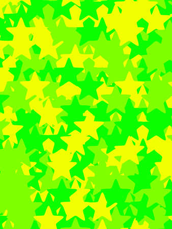 Star pattern with many shapes for your high definition decoration Stock Photo