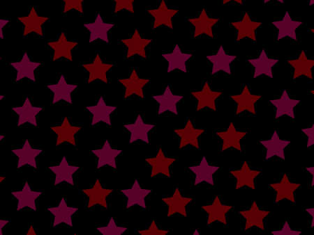 Star template with random shapes for new year illustration