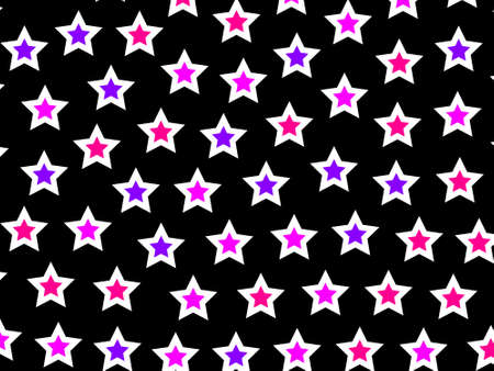 containing: Star background containing multiple shapes for high definition backdrop