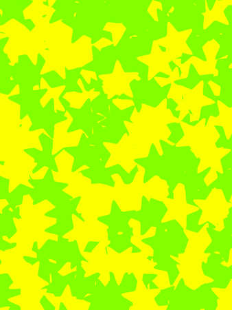Star pattern containing random particles for your high definition decoration Stock Photo