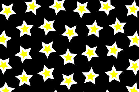 Star texture with random elements for your christmas backdrop Stock Photo