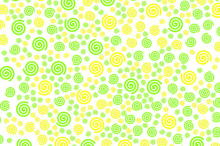 Spiral background containing random particles for your modern design.