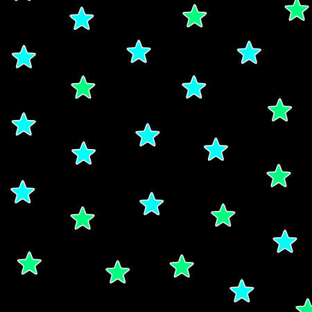 Star background with multiple particles for your high definition design Stock Photo
