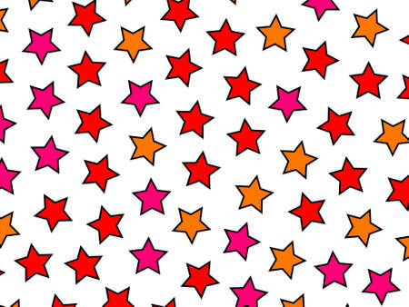 Star texture containing random shapes for your high definition illustration