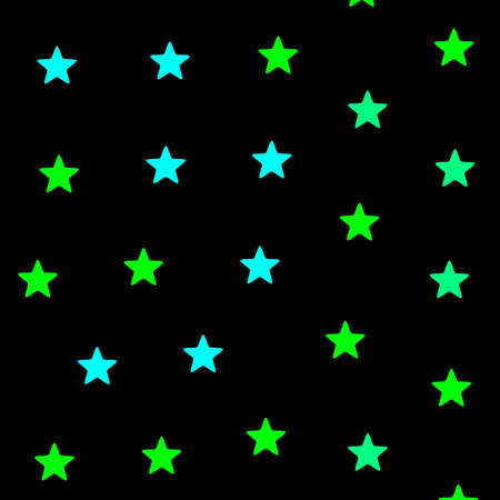 Star background containing random shapes for your new year design