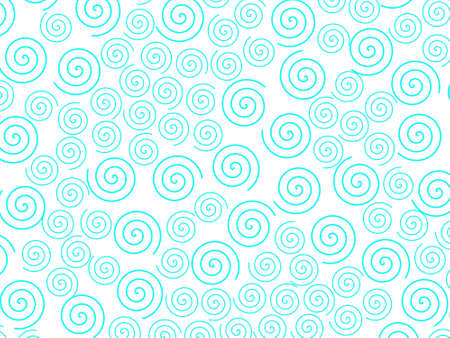 Curl background containing multiple elements for high resolution design.