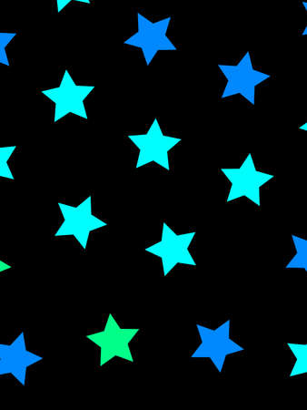 Star template containing many particles for high definition decoration