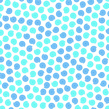 Spiral texture containing many elements for your modern illustration.