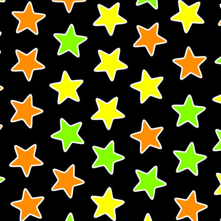 Star texture with many shapes . christmas backdrop