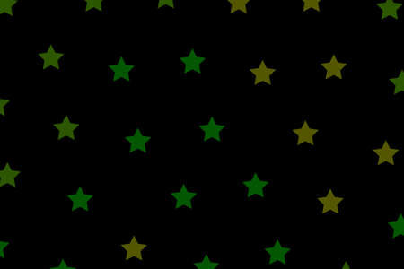 Star template with random shapes for christmas concept