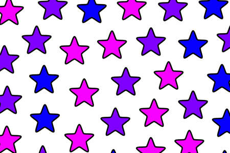 Star texture with many particles for high definition decoration