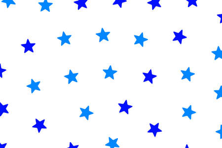 Star pattern containing random shapes for modern concept