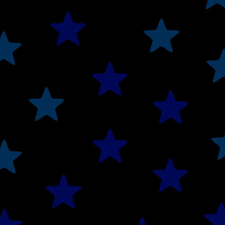 Star template based on random particles for your xmas illustration Stock Photo