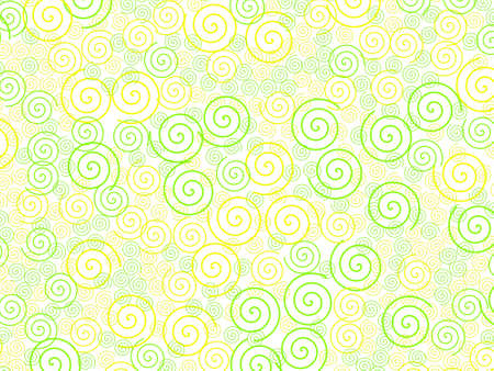 Curl texture containing many shapes for your modern illustration. Stock Photo