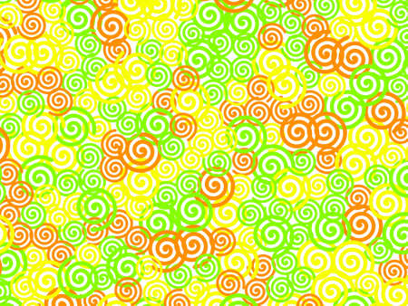 Helix texture with multiple shapes for high definition design.
