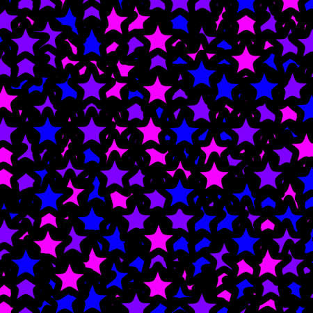 Star texture with multiple elements . christmas decoration