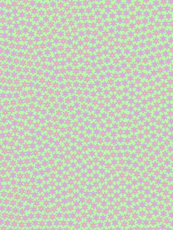 Romantic backdrounds based on multiple chrysanthemum. Banner illustration. Stock Photo