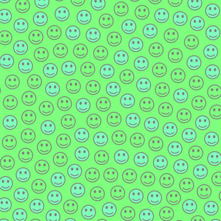 Interplay theme. Abstract pattern. Group with amusing moods. Stock Photo