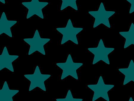 Star background with random elements for your new year decoration Stock Photo