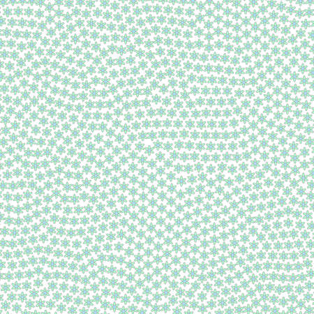 Geometric lea containing random chamomile. Affection design.