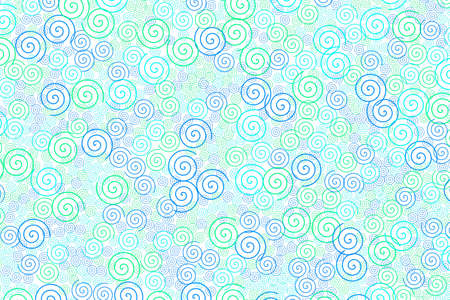 Spiral background with random elements for your high resolution illustration.