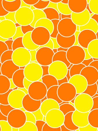 Orbs background with abstract pattern for futuristic illustration Stock Photo