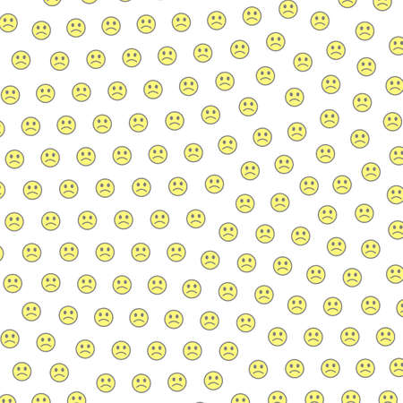 Internet theme. Geometric texture. Assembly containing random smileys. Stock Photo