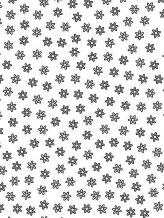 Flat backdrounds with random osteospermum. Feeling concept. Фото со стока